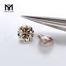 5.0mm Champagne Moissanites Diamond Top Machine Cut Lab Created Loose moissanite