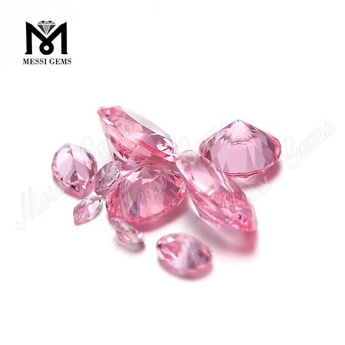 Russia color change oval shape 10x12mm 28# pink nanosital gemstone
