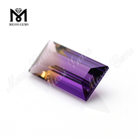 16 x 8 mm Baguette Cut synthetic ametrine stones