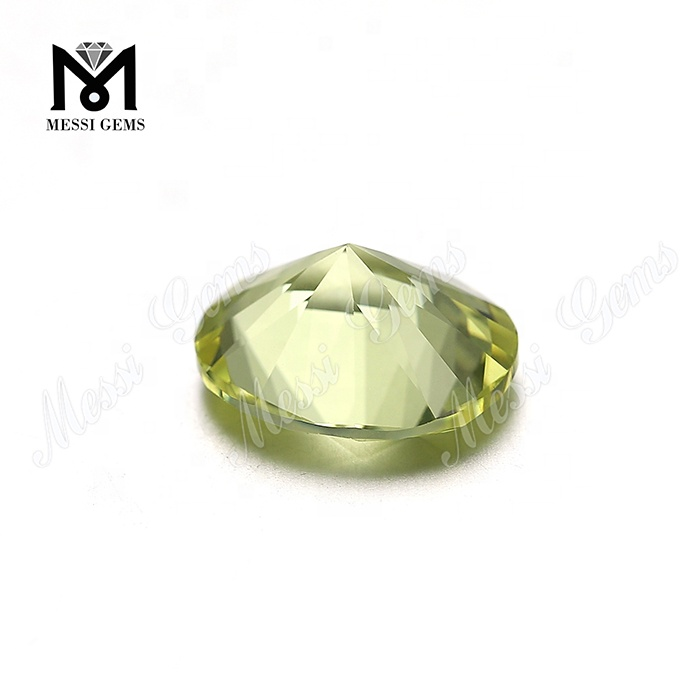 Loose Nanosital Colored 10*12mm Oval Crystal Stone