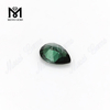 lab made green gemstones pear spinel for jewelry making