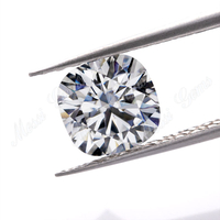 EF color VVS EX2 Cushion cut synthetic moissanite diamond gemstone