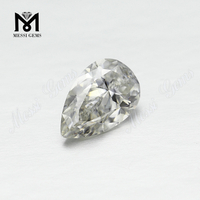 Wholesale DEF Pear Cut Loose Gemstone Moissanites Price