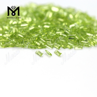 2x4mm BAG Emerald Cut Loose Gemstone Natural Peridot