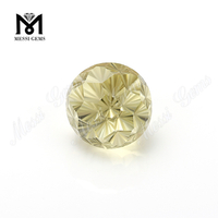 Flower Fancy Cut Lemon Citrine Topaz Natural Gemstones