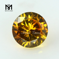 Factory Direct Sale Round 22# Orange Yellow Ruby Prices
