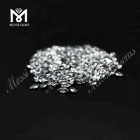 2*4mm wholesale natural white topaz stone prices for jewelry