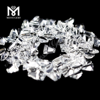 Natural White Topaz Stone Trapezoid 3x2x1.5 Natural Topaz Stone Price