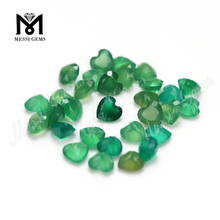Factory Price Good Quality Natural Green Agate Stone