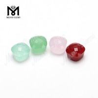 mushroom shape colorful wholesale glass stone