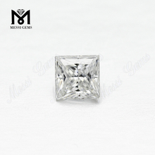 White Color Square Shape VVS Moissanite Princess 1ct Manufacturer