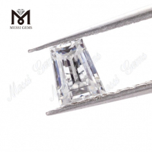 Loose Gemstones for White moissanite diamond Stone Tapp shape DEF Factory Wholesale Price