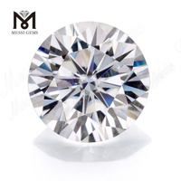Round Brilliant Cut Cheap moissanite diamond Loose Stone GH 4.5mm Man made moissanite diamond