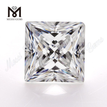 Wholesale def white princess cut 5.5x5.5mm per carat price loose moissanite