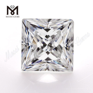 Wholesale def moissanite diamond white princess cut 5.5x5.5mm per carat price loose moissanite