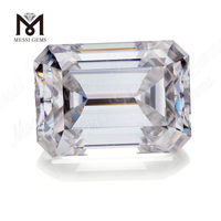 Factory Price Loose Gemstone Emerald Cut 3 Carat moissanite diamond