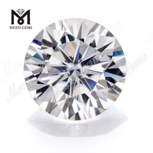 Wuzhou Synthetic Price 3.0mm Round DEF Color Loose White Moissanite