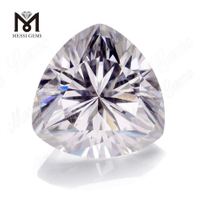 EF COLOR VS2 TRILLION CUT moissanite diamond STONE