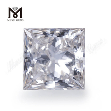 Square princess Loose 2ct lab grown diamond Gesmstones price for jewelry