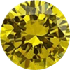Yellow Cubic Zirconia