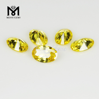 Wholesale Synthetic High Quality 5x7mm Oval Cut Loose Gems Stones CZ