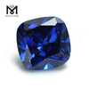 High Quality cushion Shape 13x 13 mm Blue topaz CZ Cubic Zirconia Stone Price