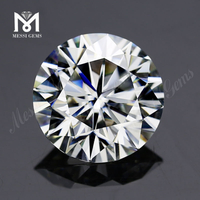 1 carat GH color Synthetic Moissanite stone GH color Round 6.5 mm China