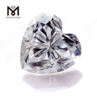 Factory Loose gemstones DEF white Heat Heart cut Moissanite